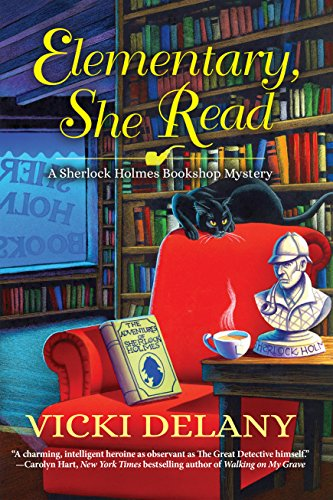 """""""Elementary, She Read"""" by VickiDelaney"""