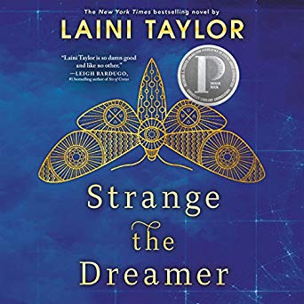 """Strange the Dreamer"" by Laini Taylor"