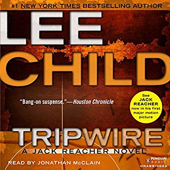 """""""Tripwire"""" by Lee Child –Audiobook"""